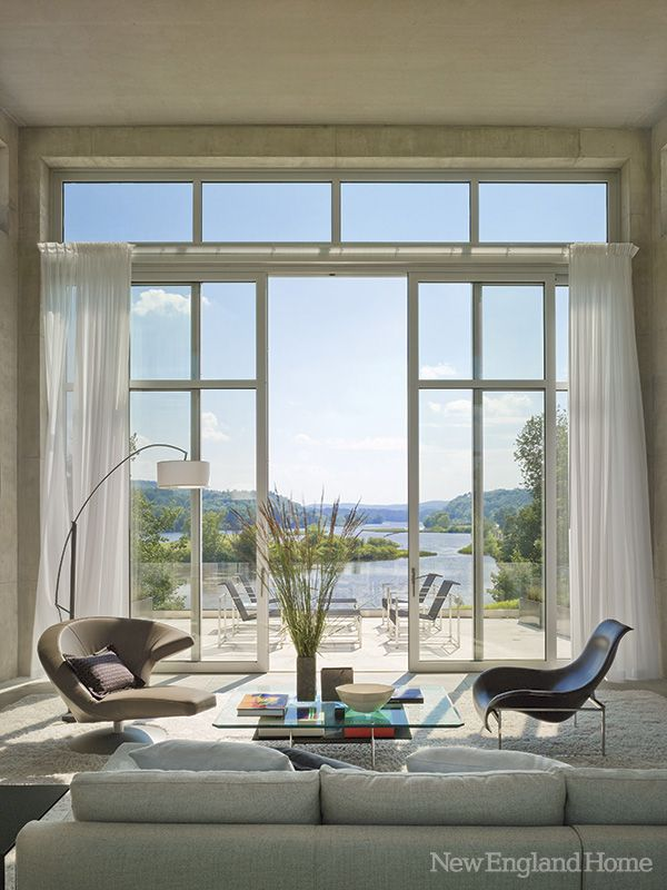 private residence in Norwich, Vermont   by architect Christopher Smith