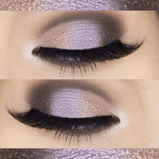 ___✨ Eyeshadows: @bhcosmetics 88 color matte palette ___✨ Lashes: @slmissglam Sparkley Glam ___✨ Brows: @anastasiabeverlyhills DipBrow in Auburn