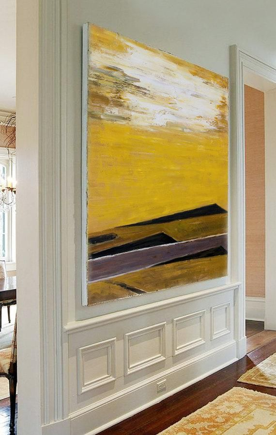 Abstract Oil Painting, Contemporary Art, Hand Painted extra large ...