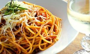 Groupon - $ 10 for $18 Worth of Pizza and Italian Food at Café Sicilia in Multiple Locations. Groupon deal price: $10