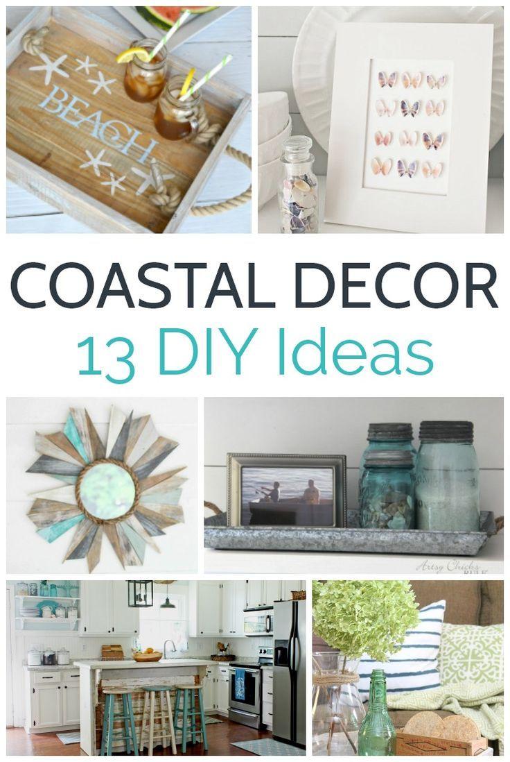 13 Beautiful Coastal Diys Add Coastal Style To Any Space With