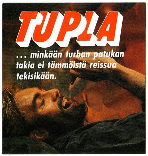 Mainos: Tupla, 1980-luku