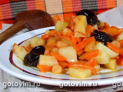 Цимес морковный. Фото-рецепт