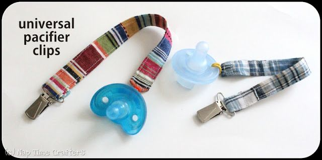 Universal Pacifier Clip Tutorial - Peek-a-Boo Pages