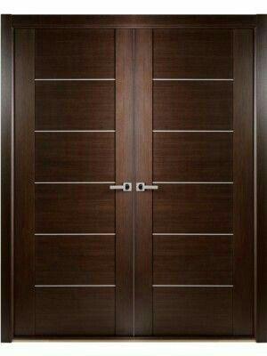 minimalist door models for house living room designwood door, front door, minimalist door pintu in 2019 doublewood door, front door