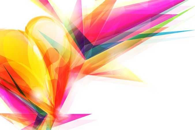 Abstract Design Vector Art Background - FREE