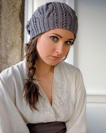 зимние шапки спицами схемы вязания новинки