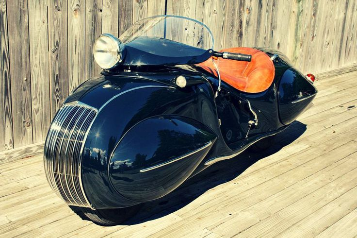 I'm not into motorcycles, but this one is cool! 1930 Henderson Custom Motorcycle