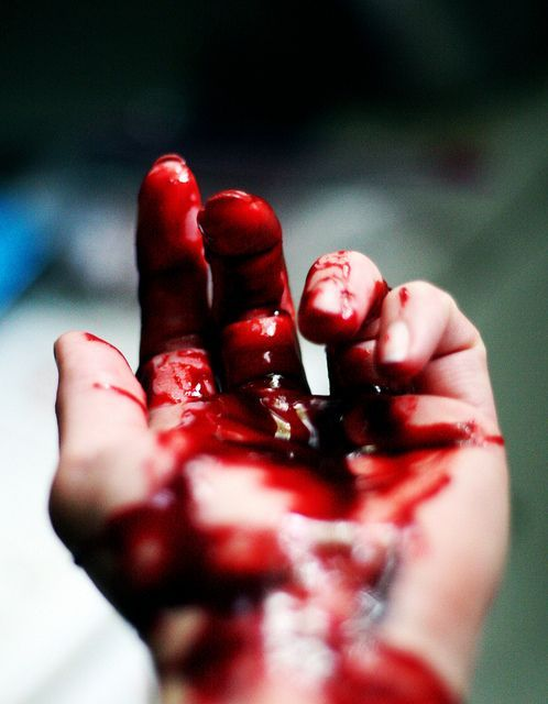 #blood #hand #cutting #vampire #thirst | Blood is life ...