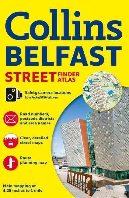 Collins Belfast Street Finder Atlas