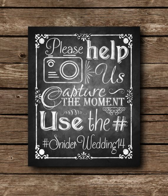 Capture the Moment Social Media Sign by SasafrasPrintables on Etsy