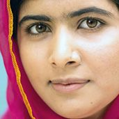"""""""Let us not forget that one book, one pen, one child and one teacher can change the world."""" -Malala Yousafzai"""