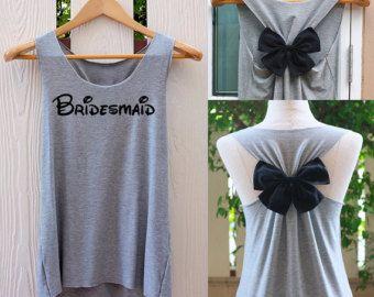 Team Bride. Bride shirt. Tank Top. Bridal Tank Top. by TheClover88