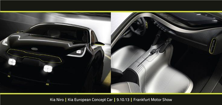Meet Kia Niro, Kia's new European concept car. http://kia-buzz.com/kia-niro-concept-to-be-revealed-at-frankfurt/