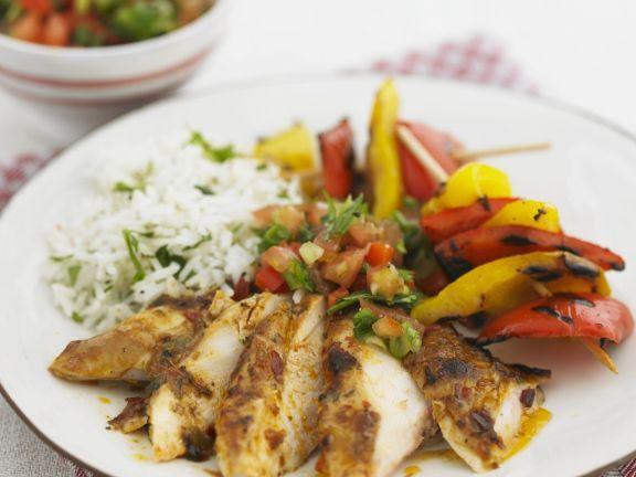 Scharf marinierte Hähnchenschenkel mit gegrillter Paprika ist ein Rezept mit frischen Zutaten aus der Kategorie Hähnchen. Probieren Sie dieses und weitere Rezepte von EAT SMARTER!
