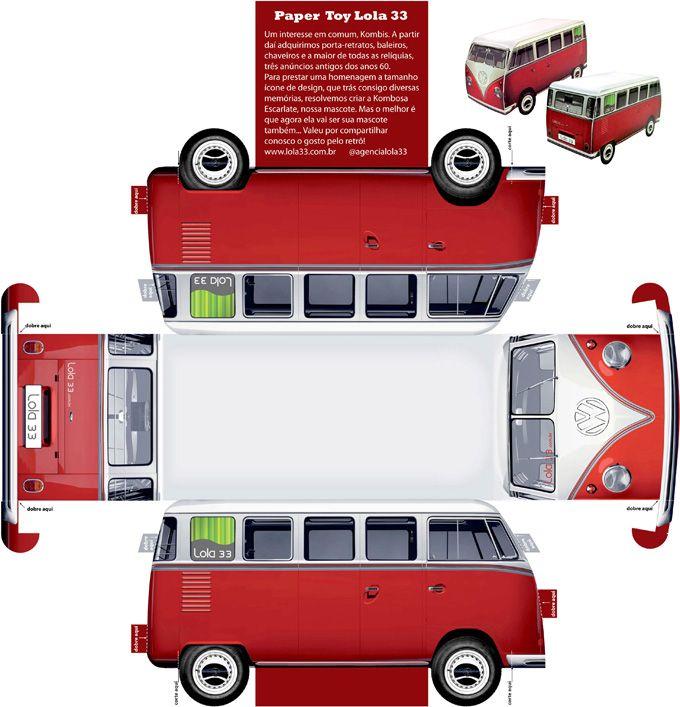 902 Best Car Papercraft Images On Pinterest