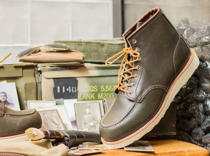 Exclusively available at the Red Wing Shoe Store Amsterdam: the Red Wing Shoes 8180 Kangatan Green!  -  http://www.redwingamsterdam.com/blog/423/exclusively-available-at-the-red-wing-shoe-store-amsterdam-the-red-wing-shoes-8180-kangatan-green