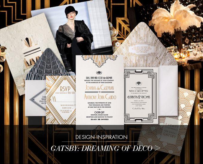 Gatsby Wedding Invites: 23 Best Modern Art Deco Design Images On Pinterest
