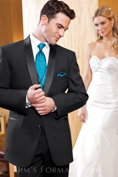Looks like Nichs tux, same colors just a bow tie instead. Great colors! Will be a beautiful wedding!