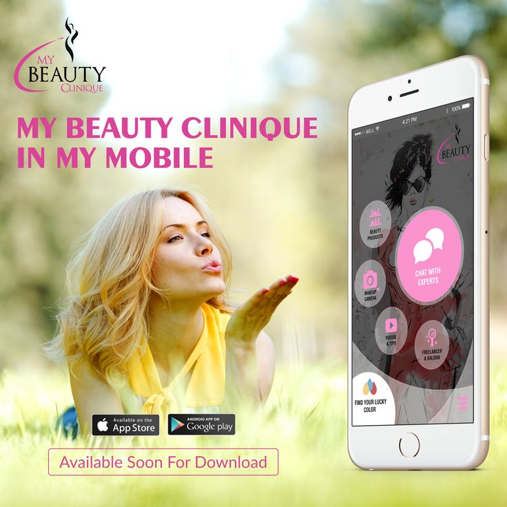 Mybeautyclinique is bringing versatile mobile app features that can give you quick makeup option for crazy selfie clicks, original make tutorial, chat with #beautyexperts & #Hollywood rock stars' #makeup technique. Also can find the lucky color of yours & loved ones. Coming soon on Google play & Apple store stay in touch on https://m.facebook.com/mybeautyclinique/