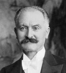 Albert François Lebrun (French: [albɛʁ ləbʁœ̃]; 1871–1950) was a French politician, President of France from 1932 to 1940. He was the last president of the Third Republic. He was a member of the center-right Democratic Republican Alliance (ARD).