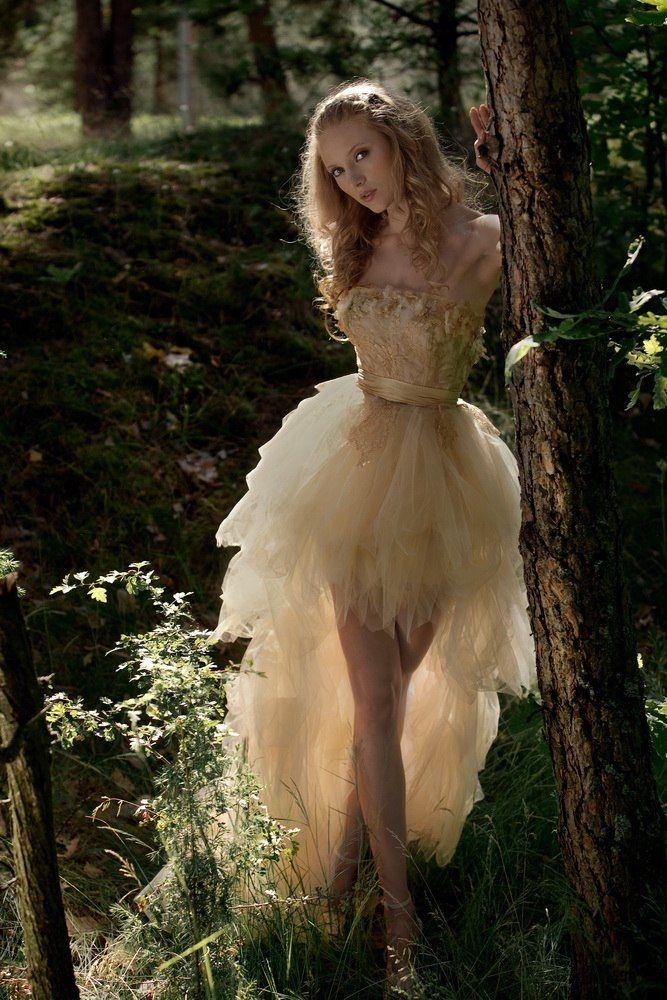 Короткое свадебное платье Olisia