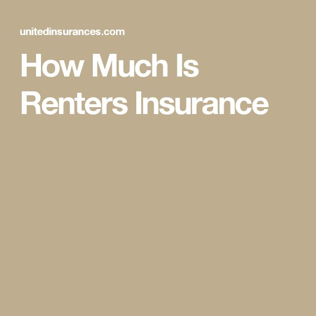 How Much Is Renters Insurance #home #homeownersinsurance #HowMuchIsRentersInsurance #insurance #insurancecompany