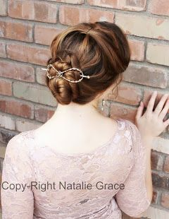 Charming Lilla Rose for Your Hair!