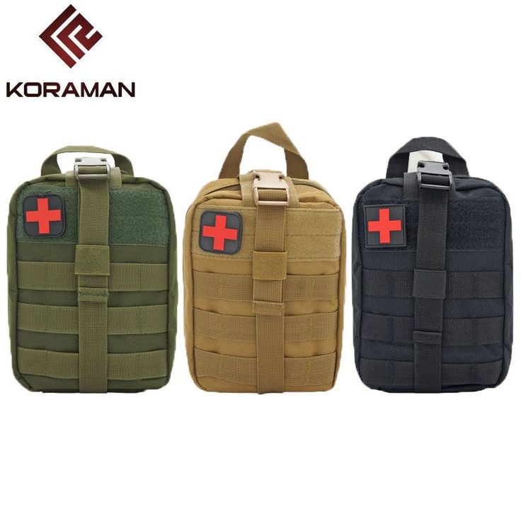 KORAMAN brand Outdoor sports waterproof tactical accessories first aid kit outdoor medical storage bags camouflage tactical bag.. Yesterday's price: US $15.88 (13.07 EUR). Today's price: US $10.64 (8.86 EUR). Discount: 33%.