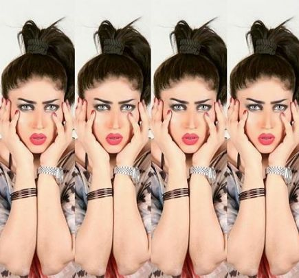 """Qandeel Baloch – real name Fouzia Azeem – had been dubbed Pakistan's Kim Kardashian for posting provocative selfies and declaring herself a """"modern day feminist""""."""