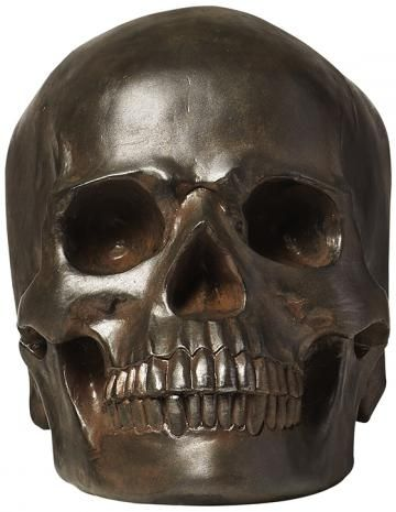 you cant have halloween without a skull place a few of these on your cabinet - Halloween Skulls