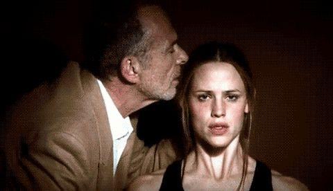 Jennifer Garner as Sydney Bristow on Alias w/ Arvin Sloane (Ron Rifkin)