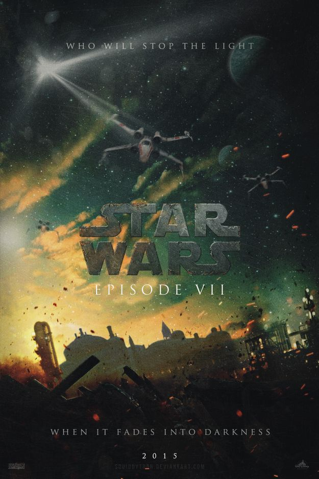 """""""Star Wars Episode VII"""" Fan Posters That Are Actually Out Of This World"""