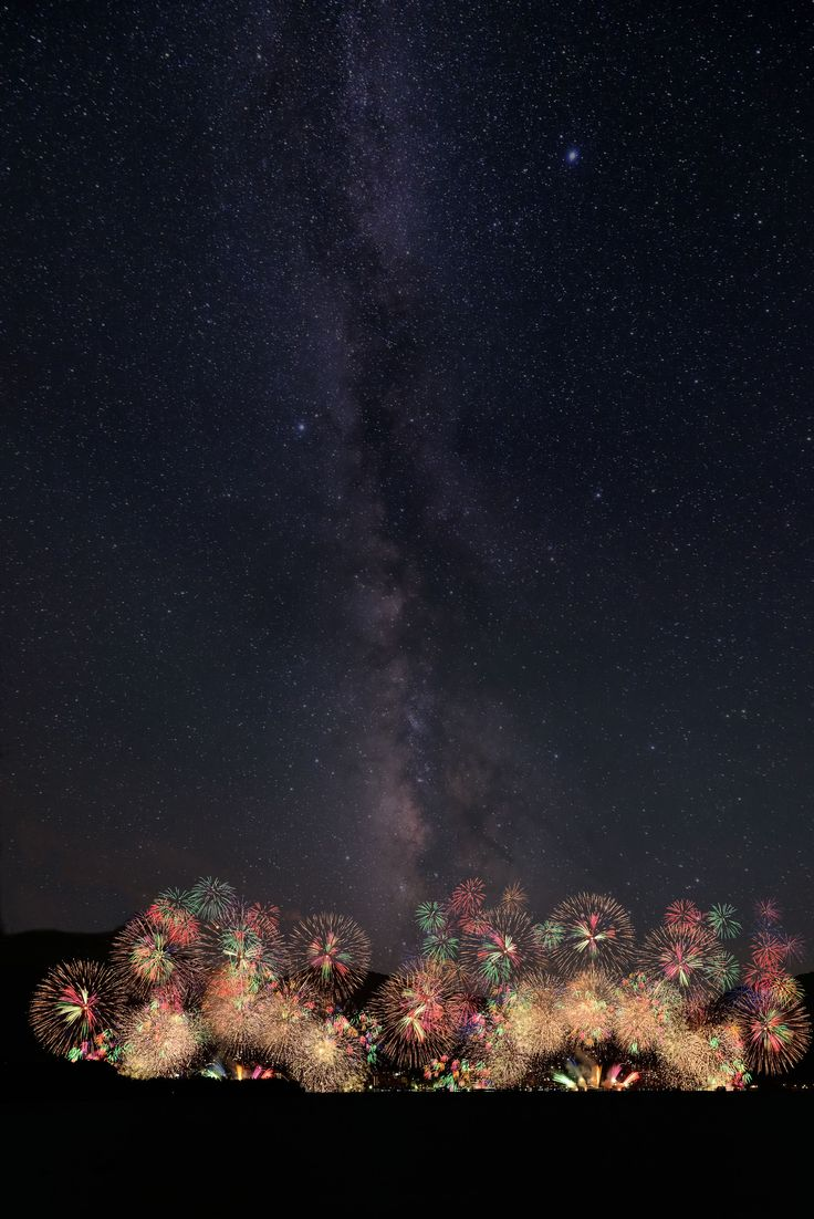 Fireworks at Lake Biwa, Japan. Photo: ken2さん
