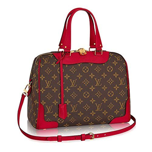 Authentic Louis Vuitton Monogram Canvas Retiro NM Tote Handbag  Cherry Made in France