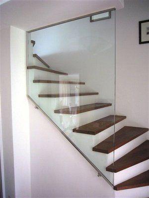 Absturzsicherung Treppe, Glaserei Wenzel München
