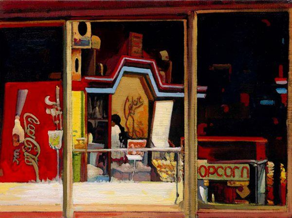 Ice Cream Parlour (Giclee) by Joe McIntyre see more at http://www.creativeartsgallery.com/art/printmaking/giclee-reproductions-(13)/ice-cream-parlour-(giclee)/