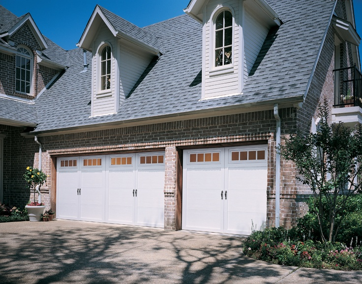 Overhead Door Courtyard Collection® Features Insulated Steel Construction,  Fashioned To Resemble The Elegant Wood