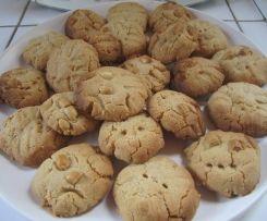 Petits sablés au beurre de cacahuètes