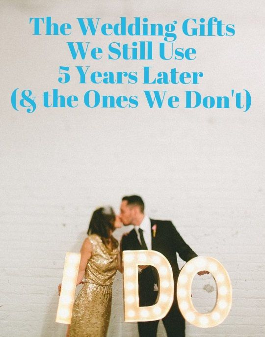 The Wedding Gifts We Still Use 5 Years Later (& the Ones We Don't) | Apartment Therapy