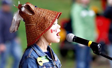 she sings for nature - Ta'Kaiya Blaney
