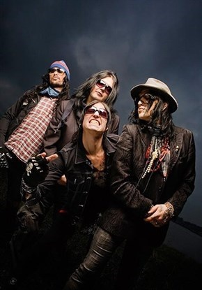 Hardcore Superstar are a hard rock band from Gothenburg, Sweden with heavy sleaze influences. The band was formed in 1997 and have released seven albums to date. Besides a short break, Hardcore Superstar have continuously toured and recorded since their formation.