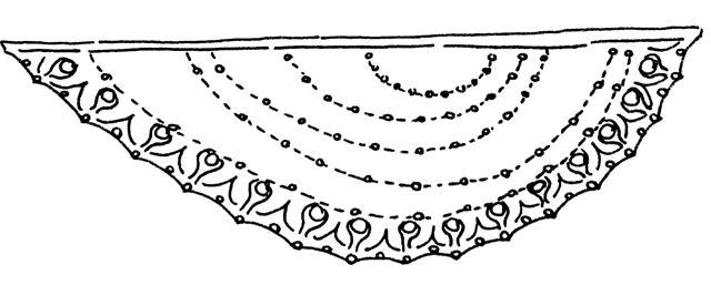 Ravelry: La Lune Rousse pattern by K.M. Bedigan