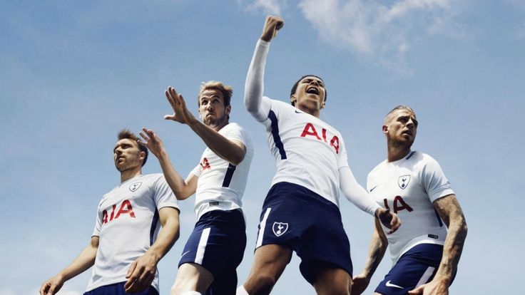 Tottenham new 2017-18 kits have been released with more classic, elegant lines than those of the last season. They bear homage to the 1961 Spurs team that was the first one to win the League and the FA Cup Double. This year also marks the club changing their kit sponsor to Nike. Click for the review.