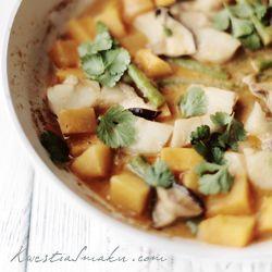Tajskie curry dyniowe - Przepis