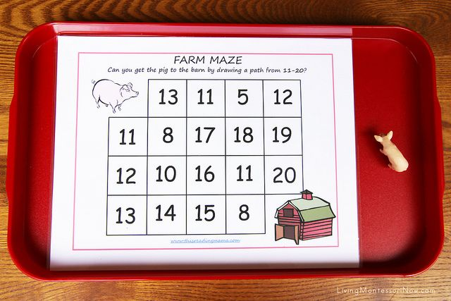 Free Farm Printables and Montessori-Inspired Farm Activities Using Replicas and…