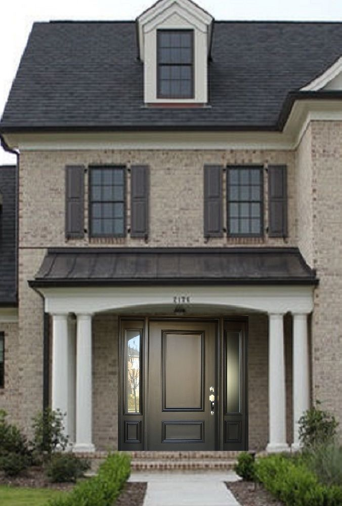 118 best images about exterior color schemes on pinterest taupe navy blue and gray - Paint for exterior metal pict ...