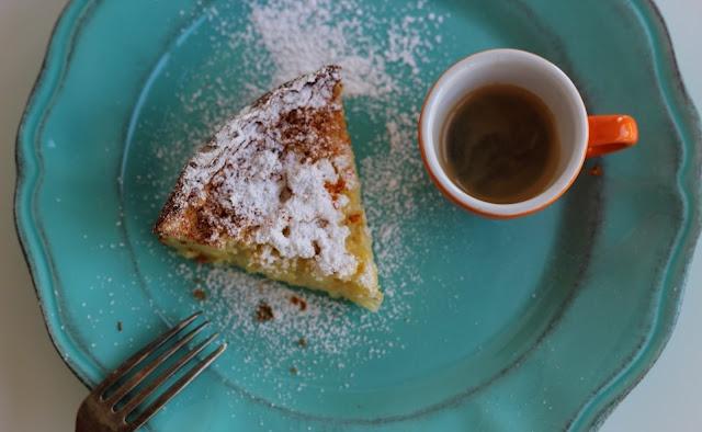 Blood Orange Rice Cake, inspired by Two Greedy Italians