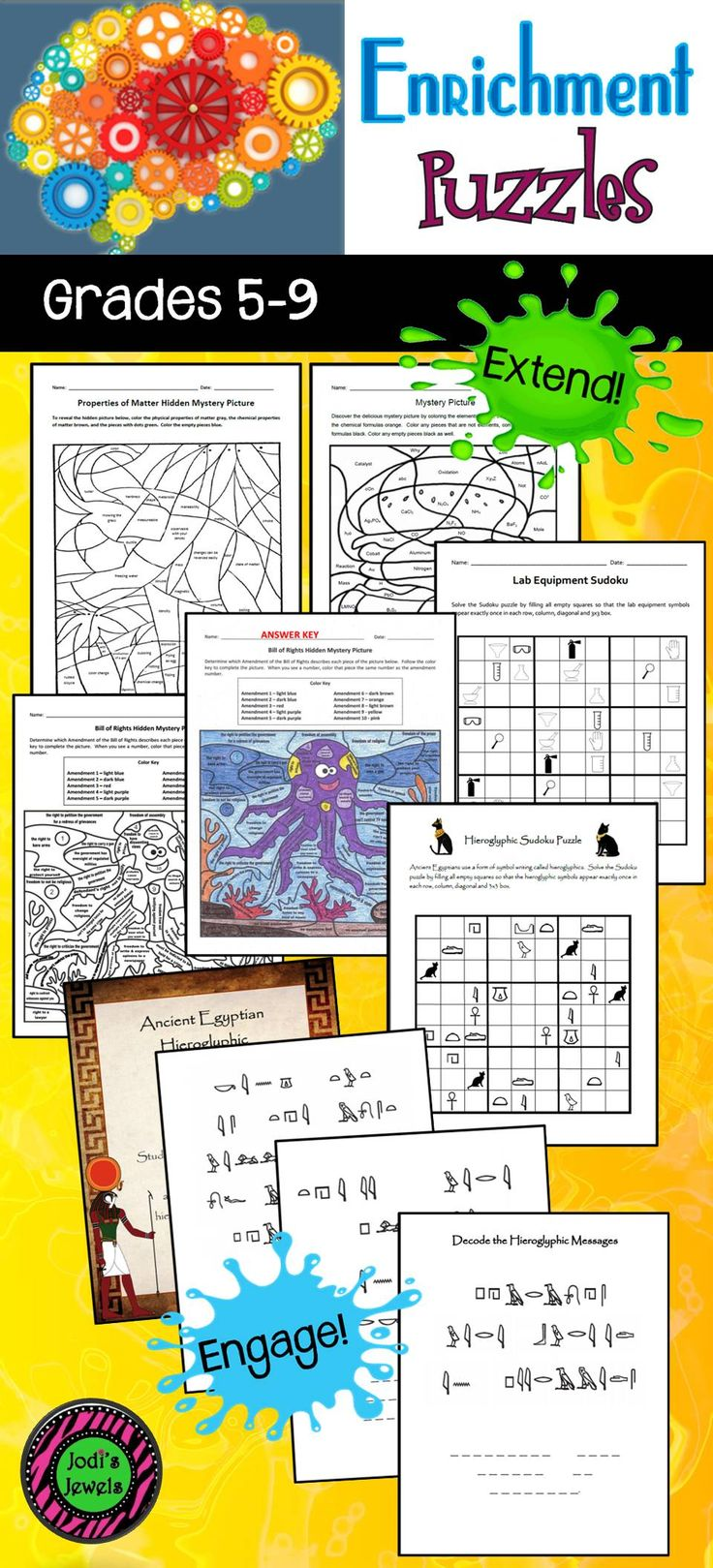 Worksheet Activity Village Sudoku 1000 ideas about web sudoku on pinterest hidden mystery pictures and decoding messages for science social studies are perfect grades 5