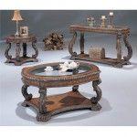 $841.32  Coaster Furniture - Antique Finish Occasional 3 Piece Table Set - 3891-3set